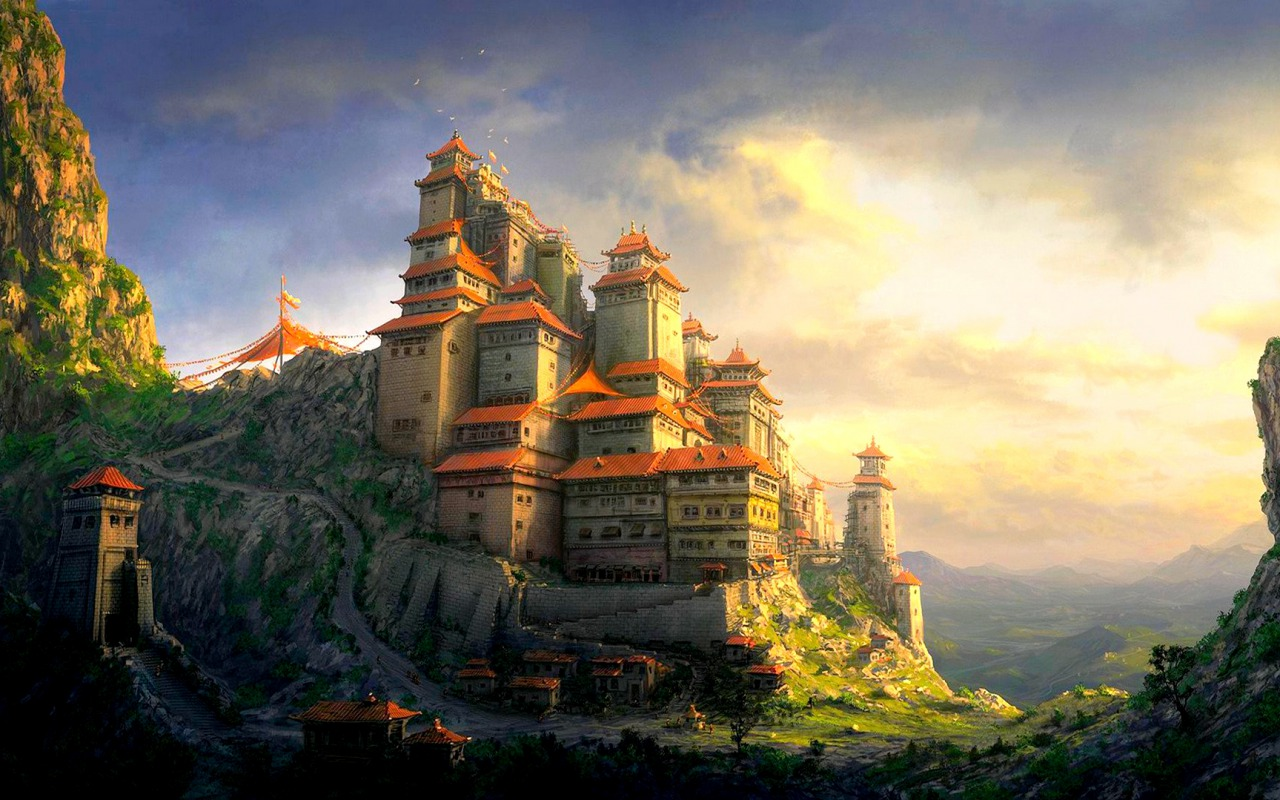 Fantasy Castle Wallpapers 1280x800