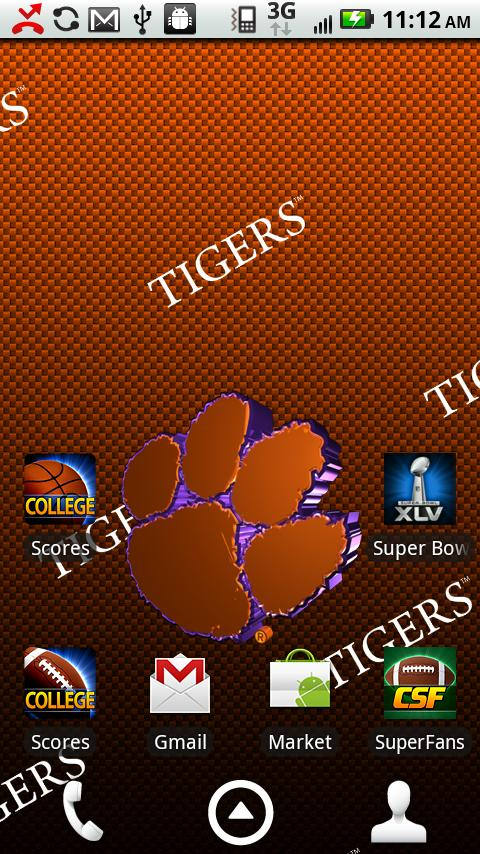 Clemson Live Wallpaper HD   Android Apps on Google Play 480x854