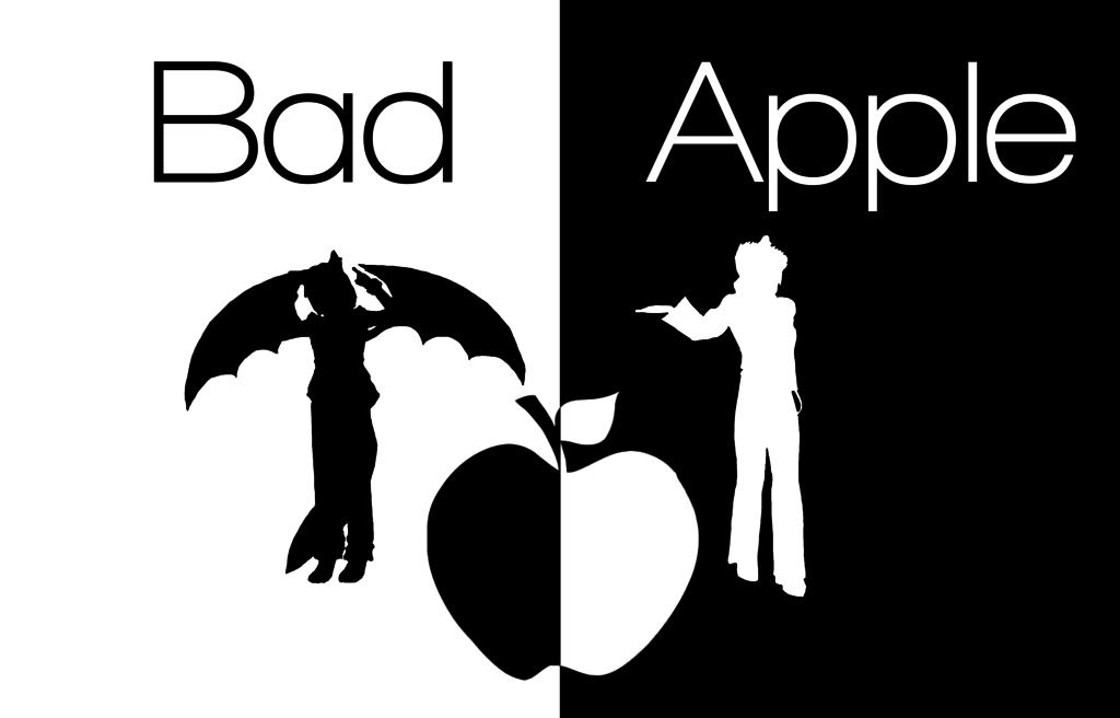 Bad Apple Wallpapers 1024x656