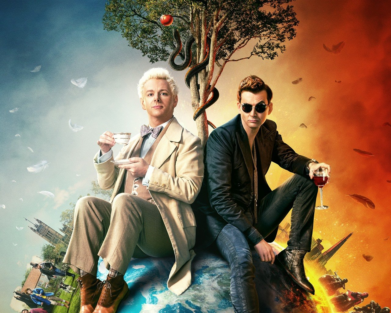 Wallpaper Good Omens 1920x1440 HD Picture Image 1280x1024