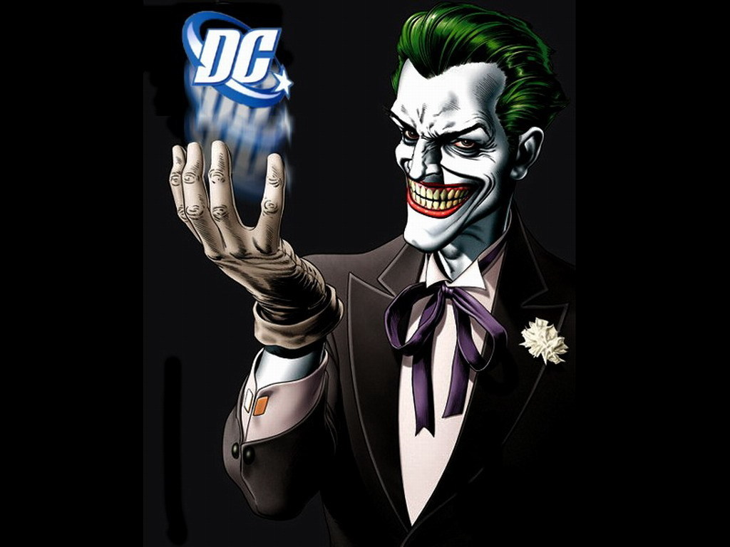 DC Comics Joker 1024x768