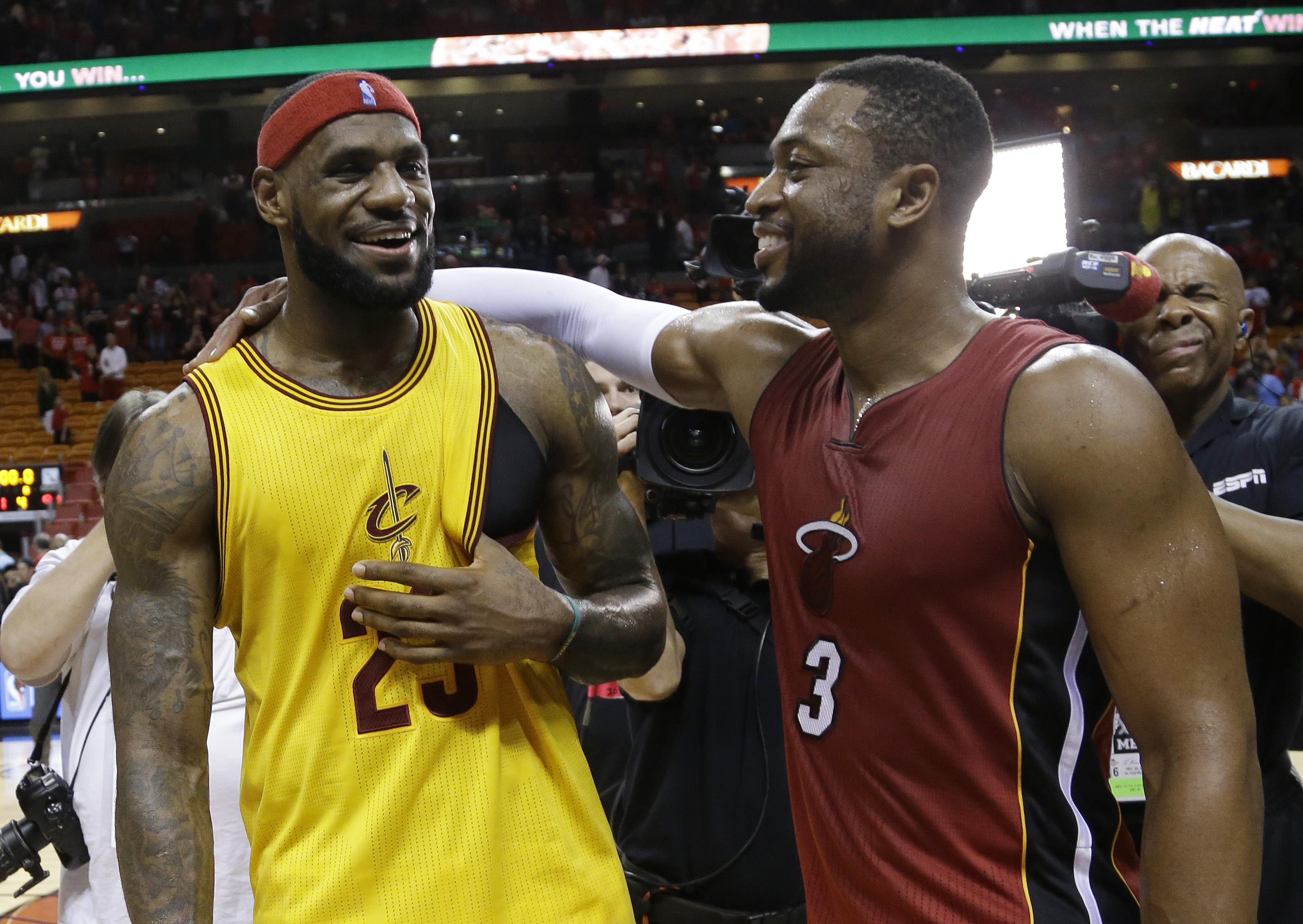 LeBron James Says Facing Miami in Playoffs Would Be Good for Me and D 2850x2023