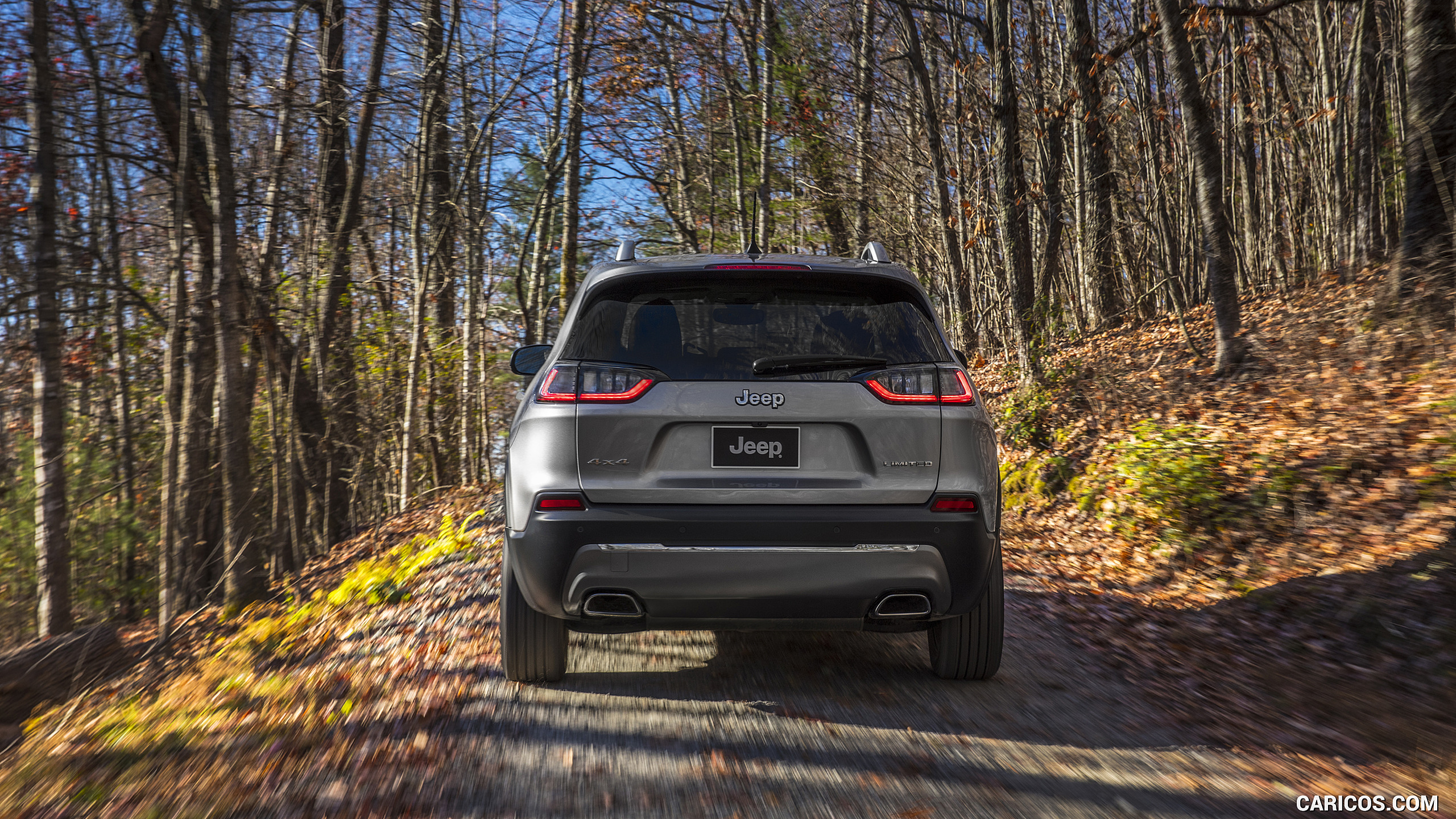 2019 Jeep Cherokee Limited   Rear HD Wallpaper 75 2560x1440