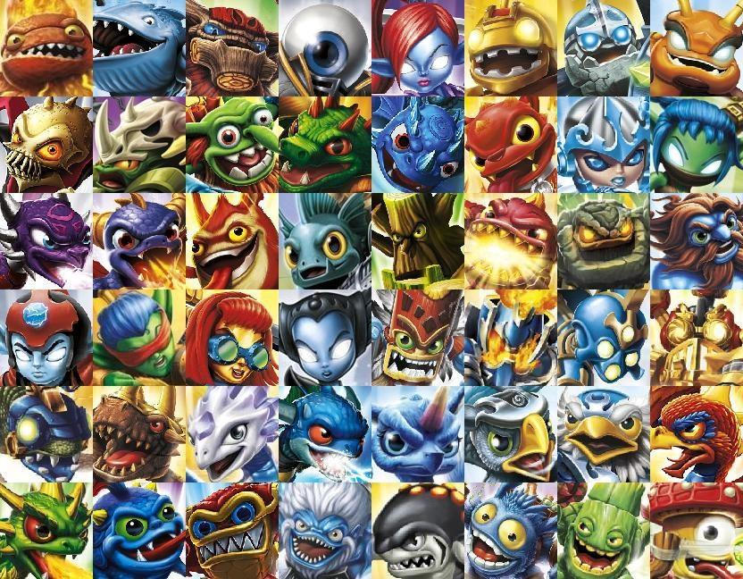 Skylanders Elite by Ele Bros 832x648