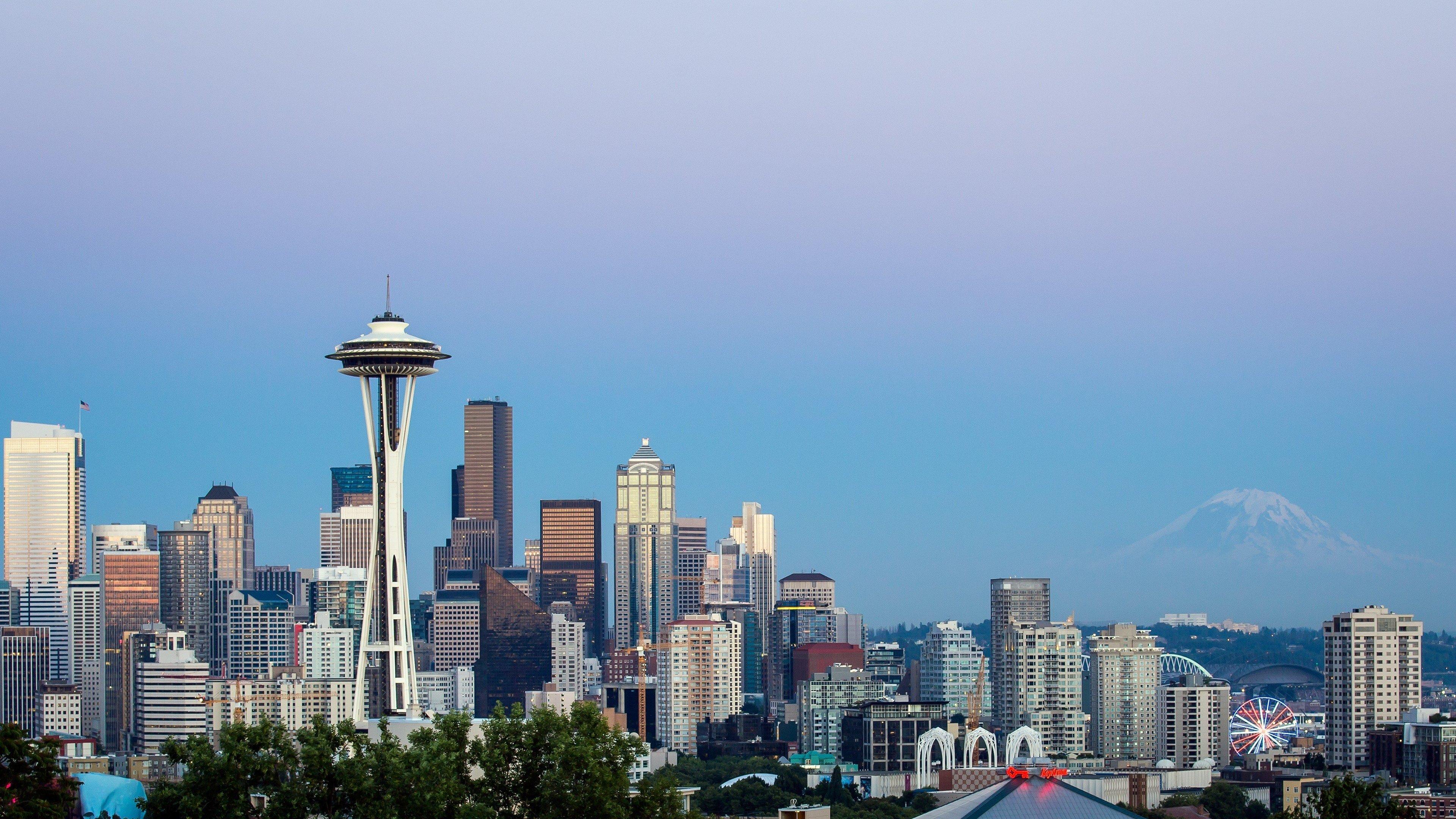 Man Made   Seattle Seattle Wallpaper 3840x2160