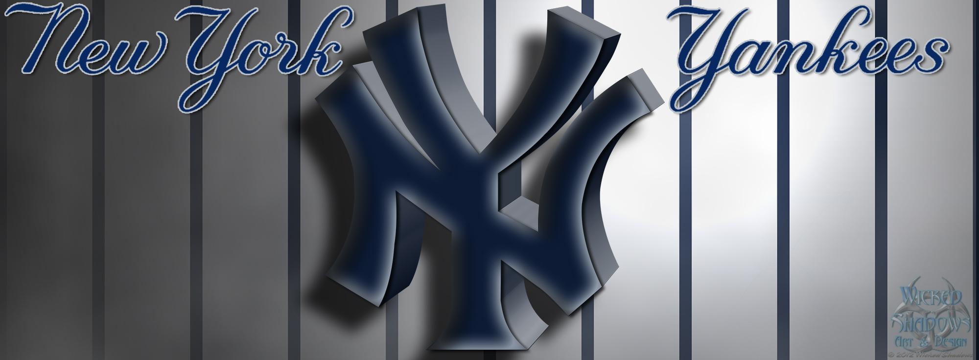 47 New York Yankees Wallpaper Logo On Wallpapersafari