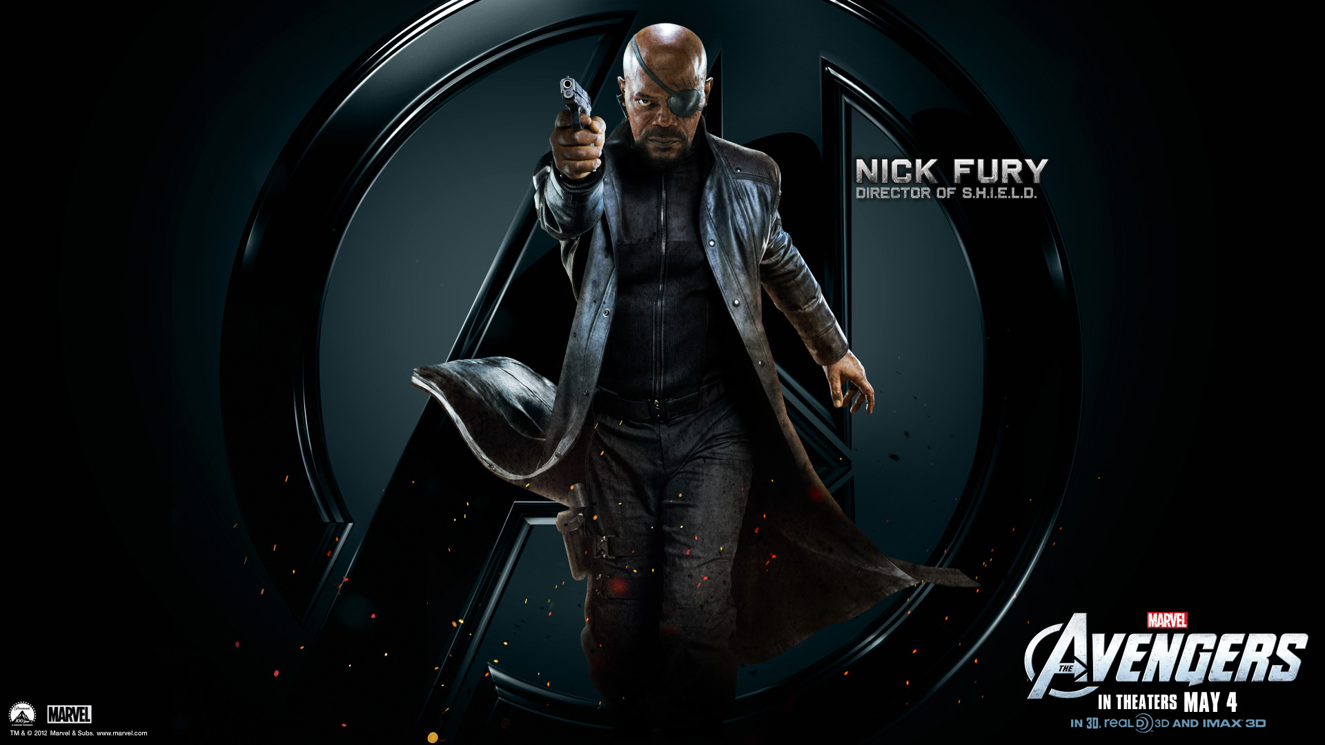 Avengers Wallpapers HD The Avengers Nick Fury HD Wallpapers 1920x1080