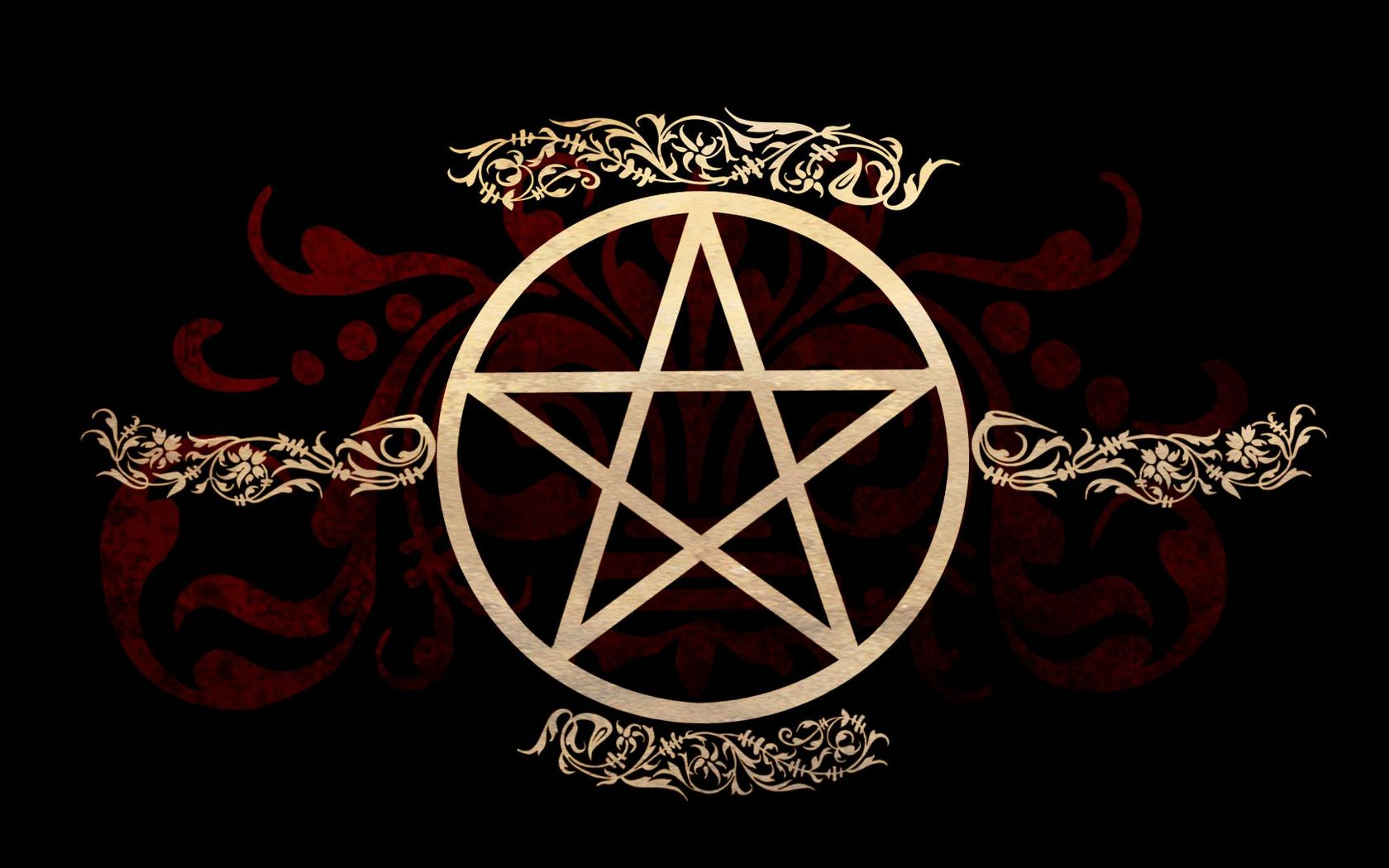 Pentagram wallpaper 18403 1680x1050