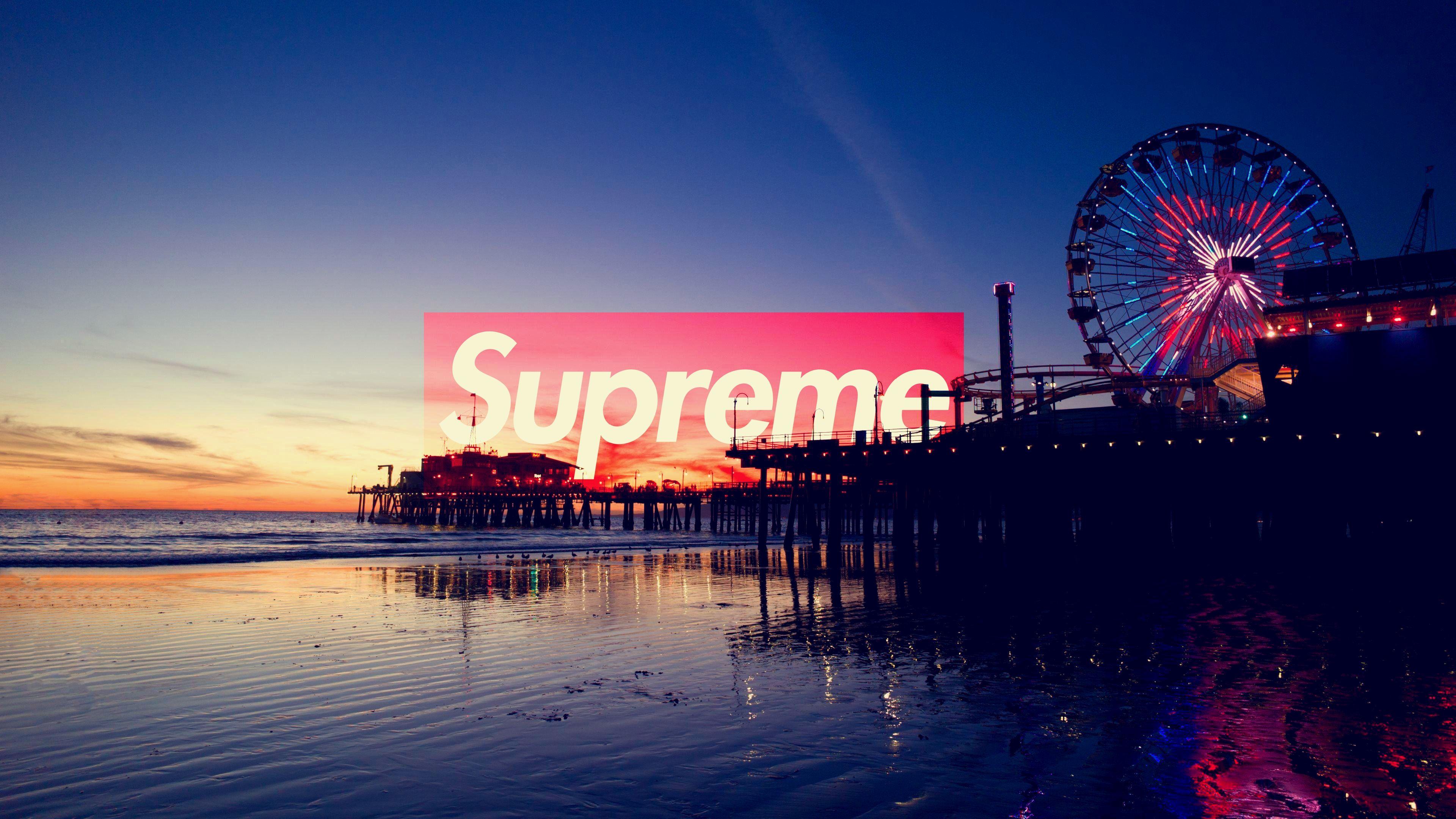 Supreme Los Angeles SUPREME Laptop wallpaper Supreme 3840x2160