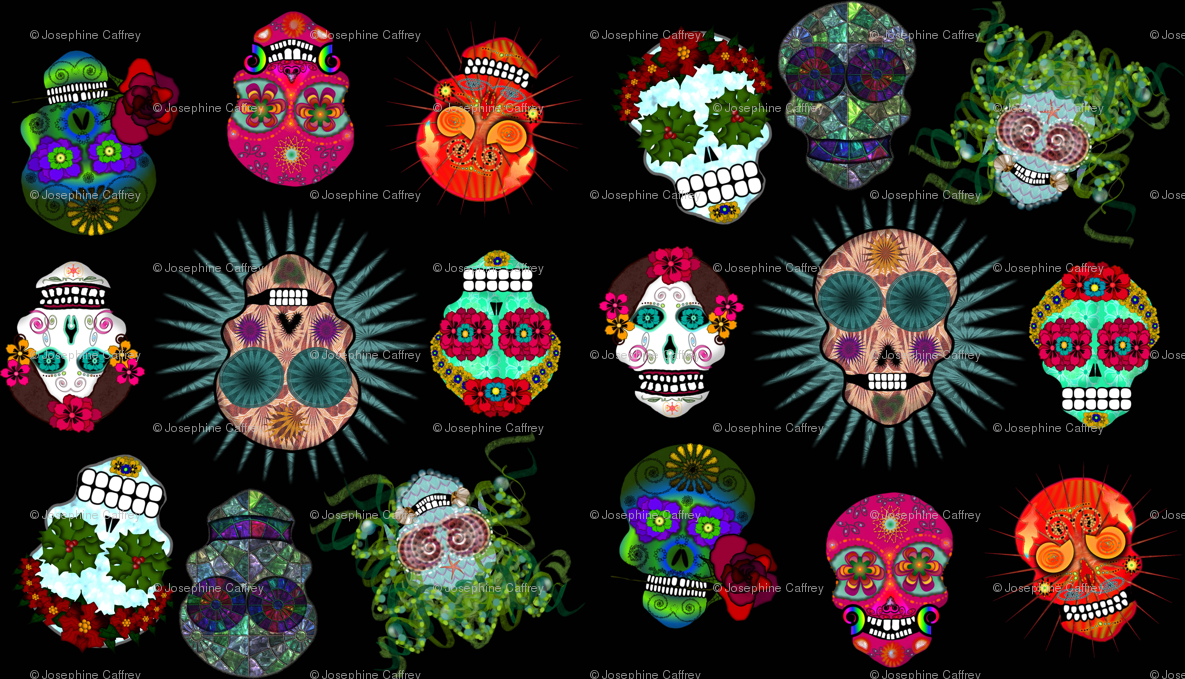 Free Download Pink Sugar Skull Background Sugar Skulls 1185x679