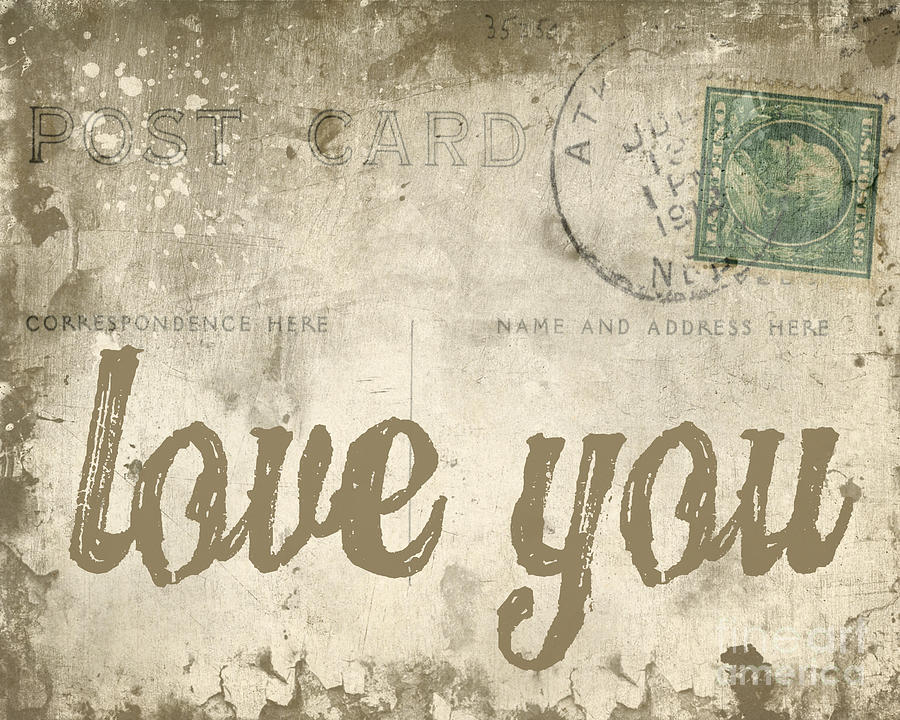 Wallpaper I Love You Vintage : Antique Love Letters Wallpaper - WallpaperSafari