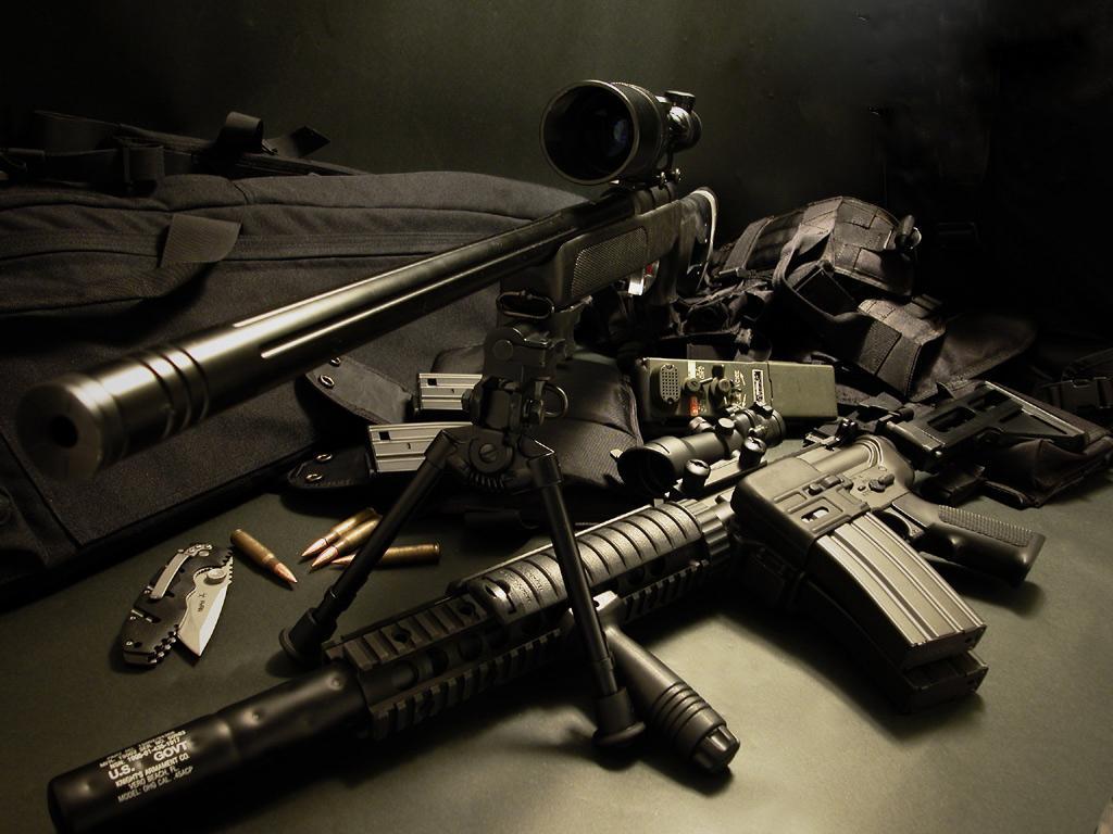 50] iPhone Gun Wallpaper on WallpaperSafari 1024x768