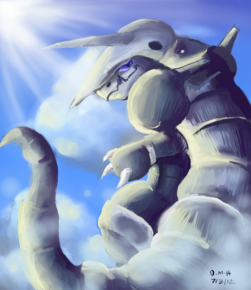 Aggron by LadyKuki 832x960