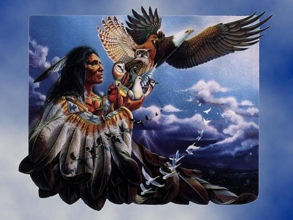 Native American Blue Eagle wallpaper   ForWallpapercom 1024x768