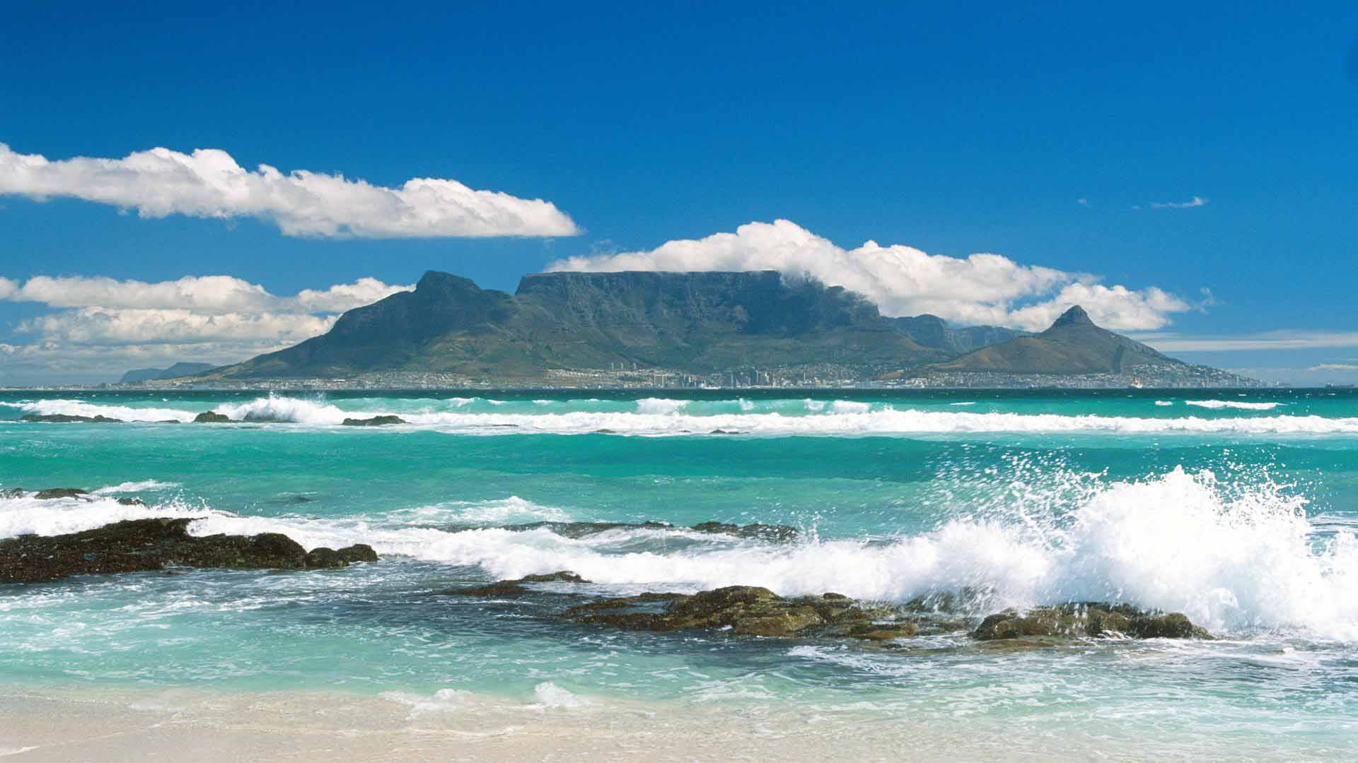 Table Mountain in Cape Town Pictures Download Desktop Wallpaper 1920x1080