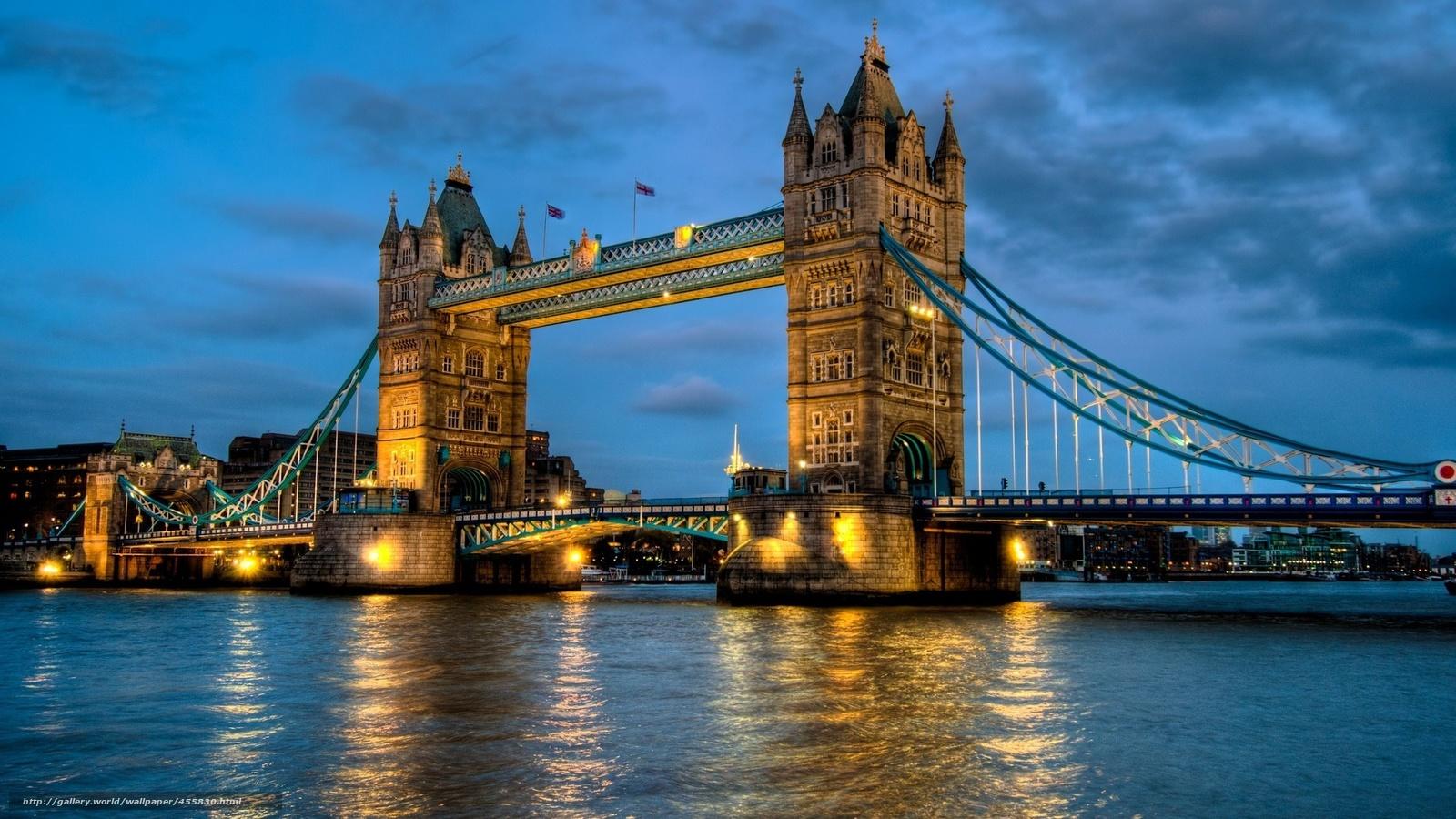 wallpaper London uk tower bridge London desktop wallpaper 1600x900