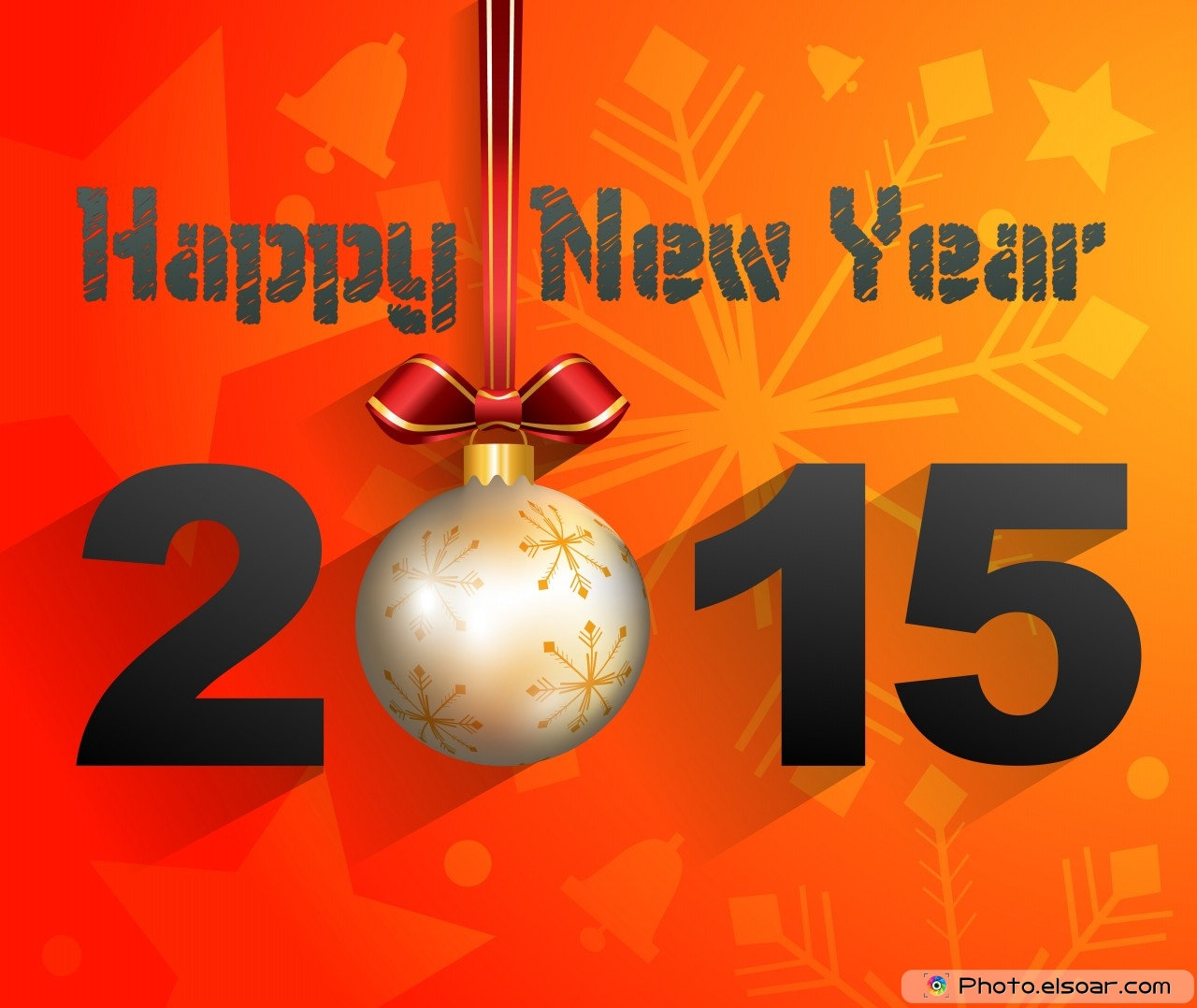 Happy New Year 2015 Decorations 1280x1078