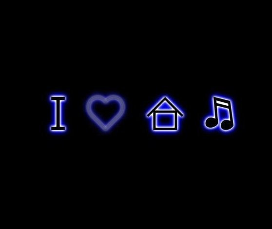 I Love House Music Wallpaper Wallpapersafari