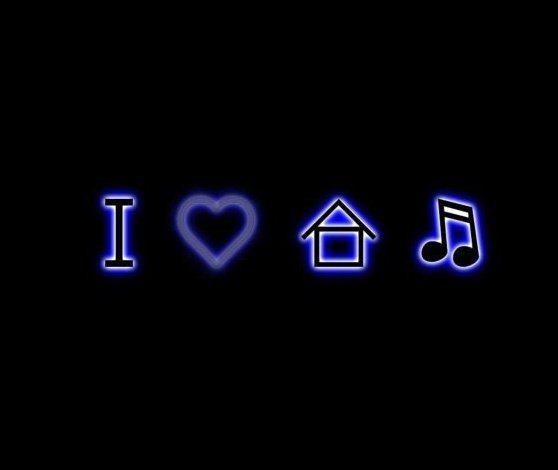 House Hd Wallpaper: I Love House Music Wallpaper