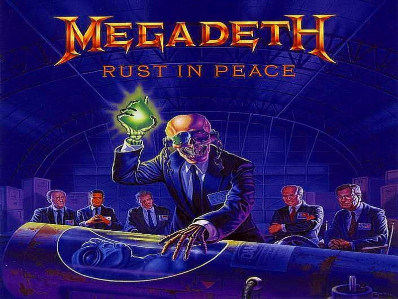 Free Download Megadeth Rust In Peace Wallpaper