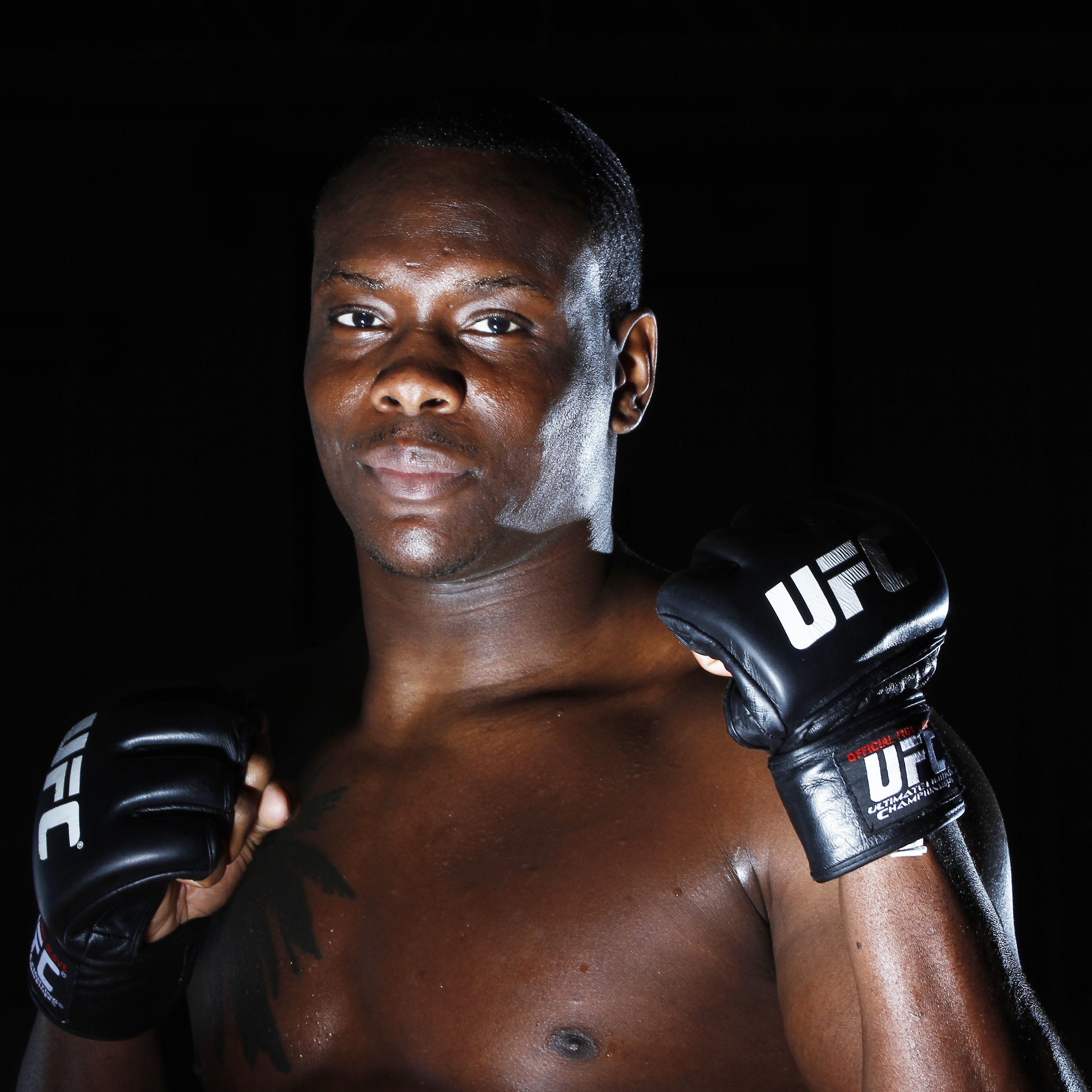 Download wallpaper 3415x3415 ovince saint preux ultimate fighting 3415x3415