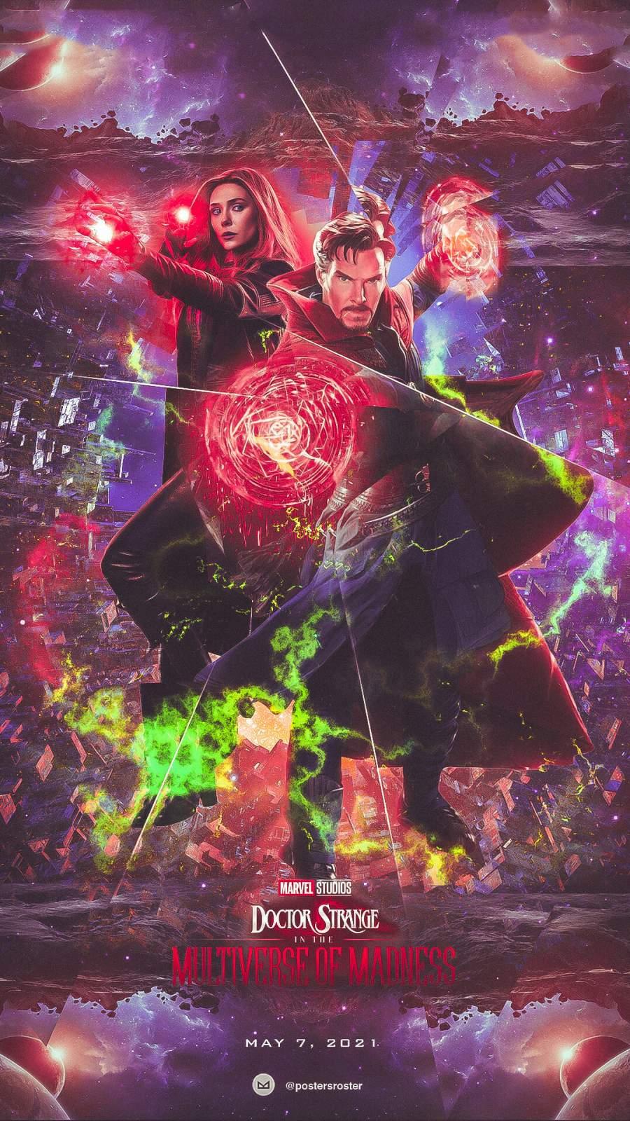 Doctor Strange Multiverse Of Madness   900x1600 Wallpaper   teahubio 900x1600