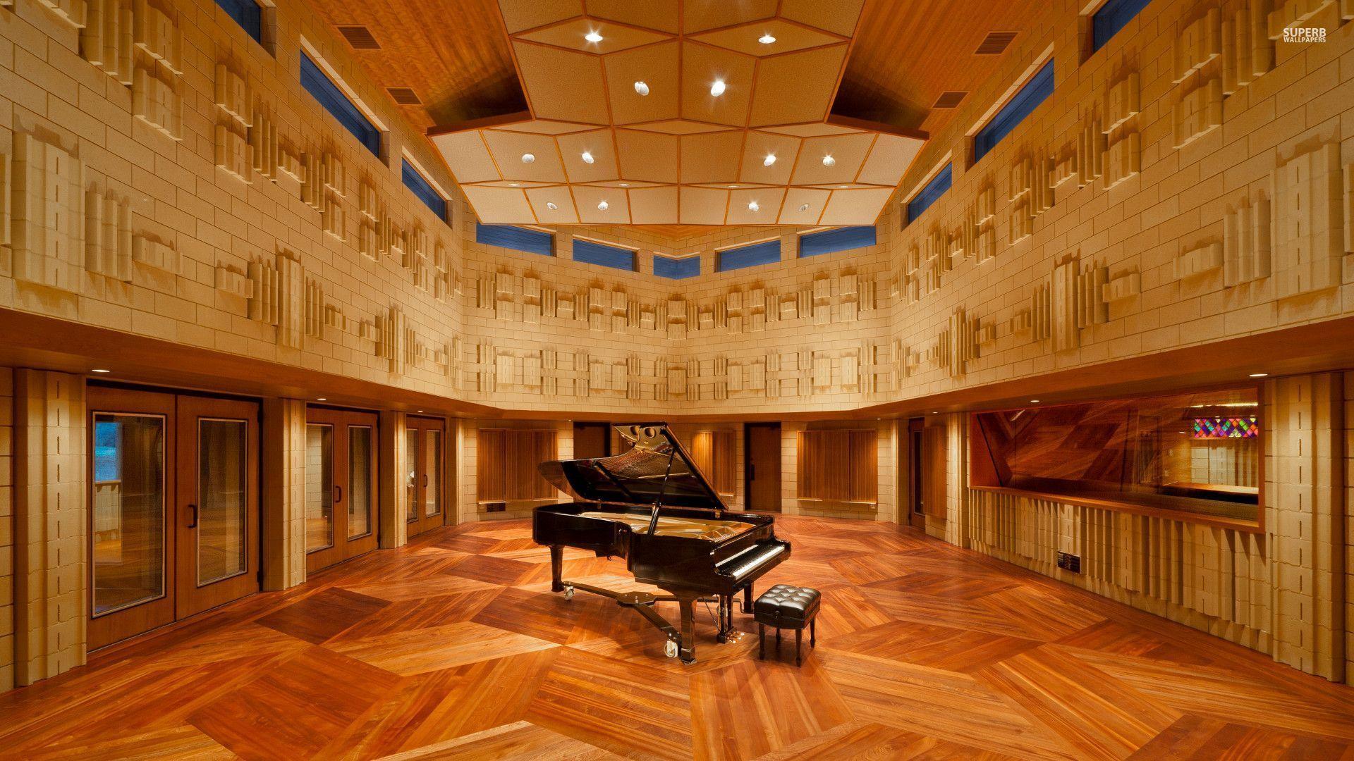 Piano in the Manifold Recording studio wallpaper   Music 1920x1080