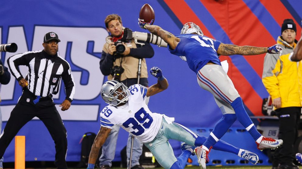 Odell Beckham Jr Made One of the Greatest Football Catches Ever   ABC 992x558