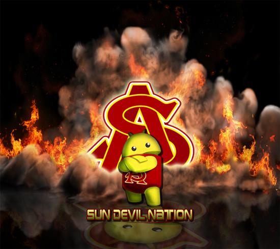 ASU Sun Devils Lloyd Wallpaper 550x489