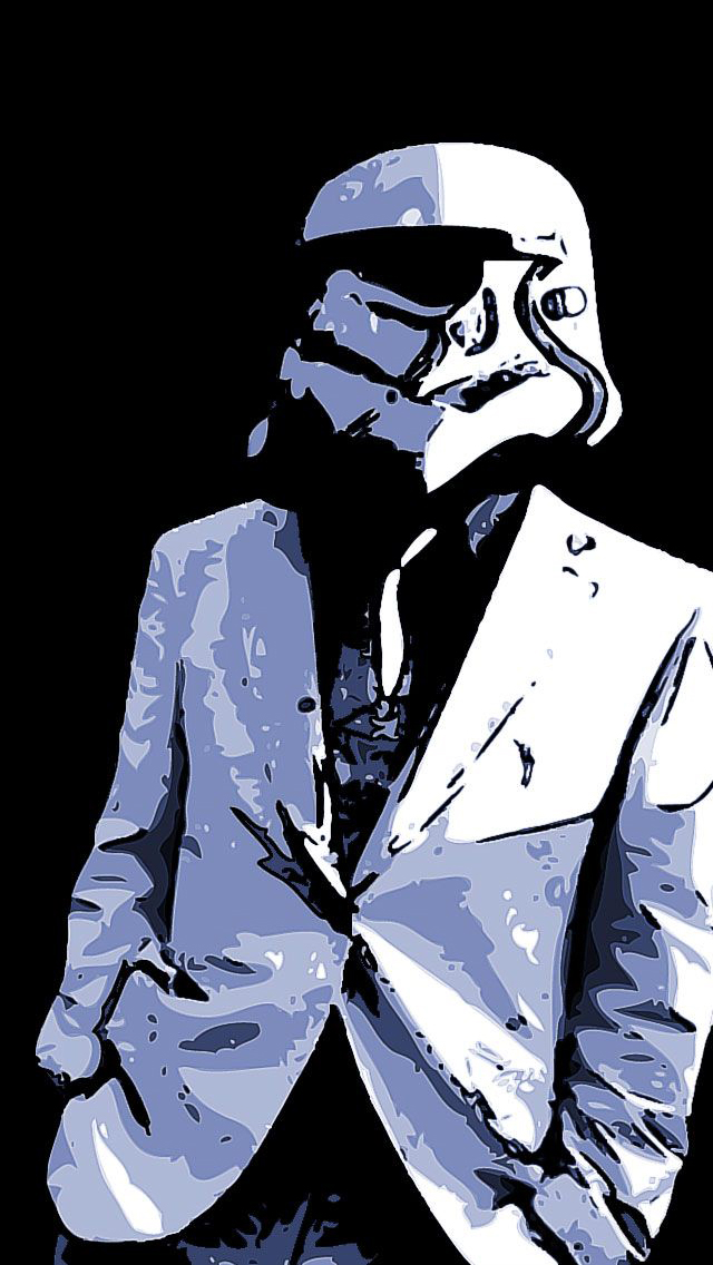Storm Trooper Suit iPhone 5 Wallpaper 640x1136 640x1136