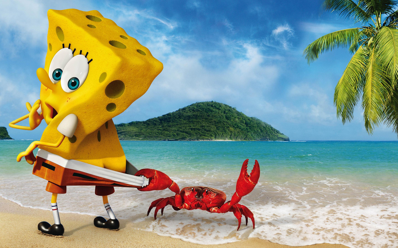 SpongeBob SquarePants 3D Exclusive HD Wallpapers 7084 2880x1800