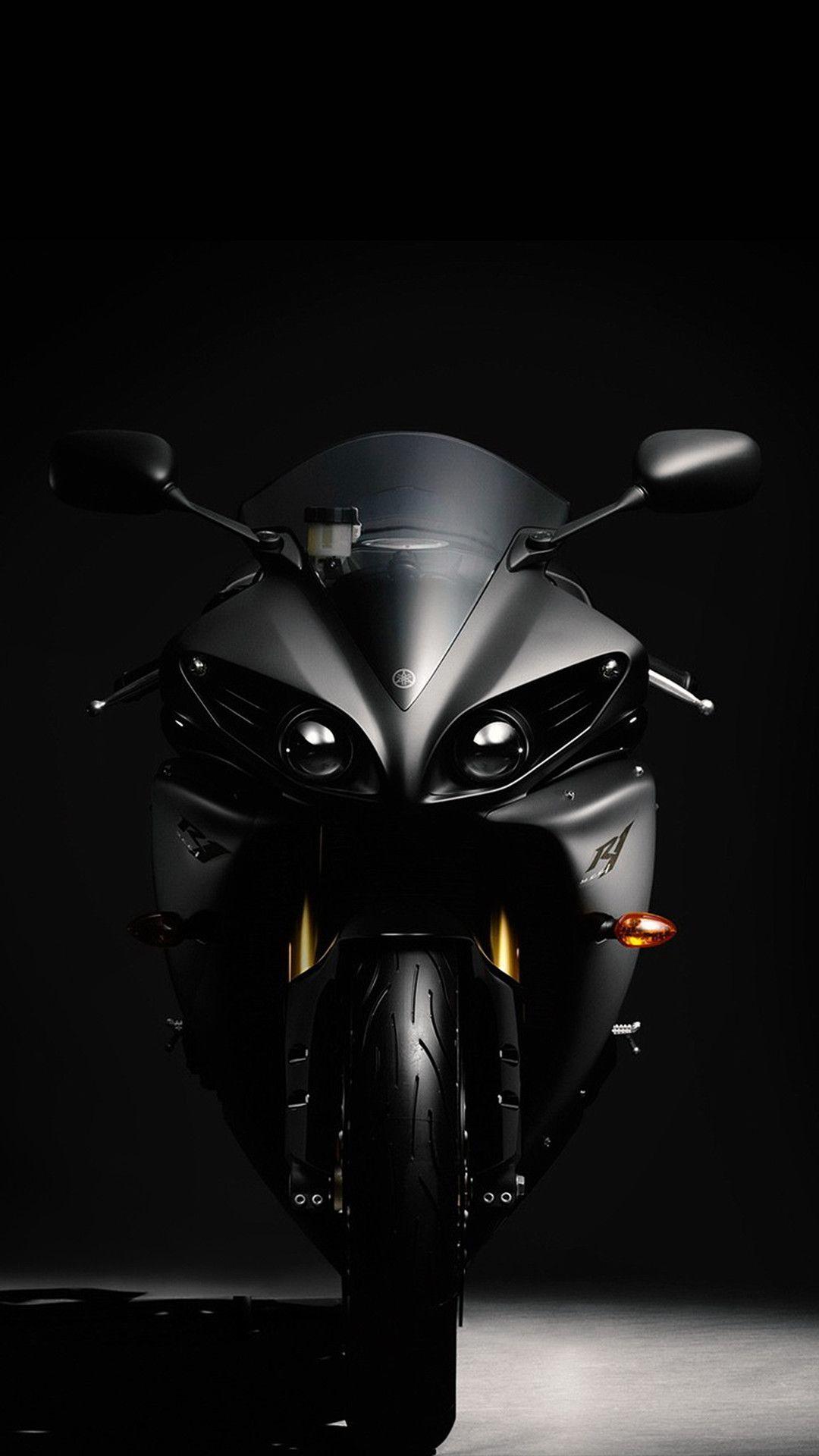 Black R1 Phone Wallpaper Motorcycle Page Motorcycle wallpaper 1080x1920