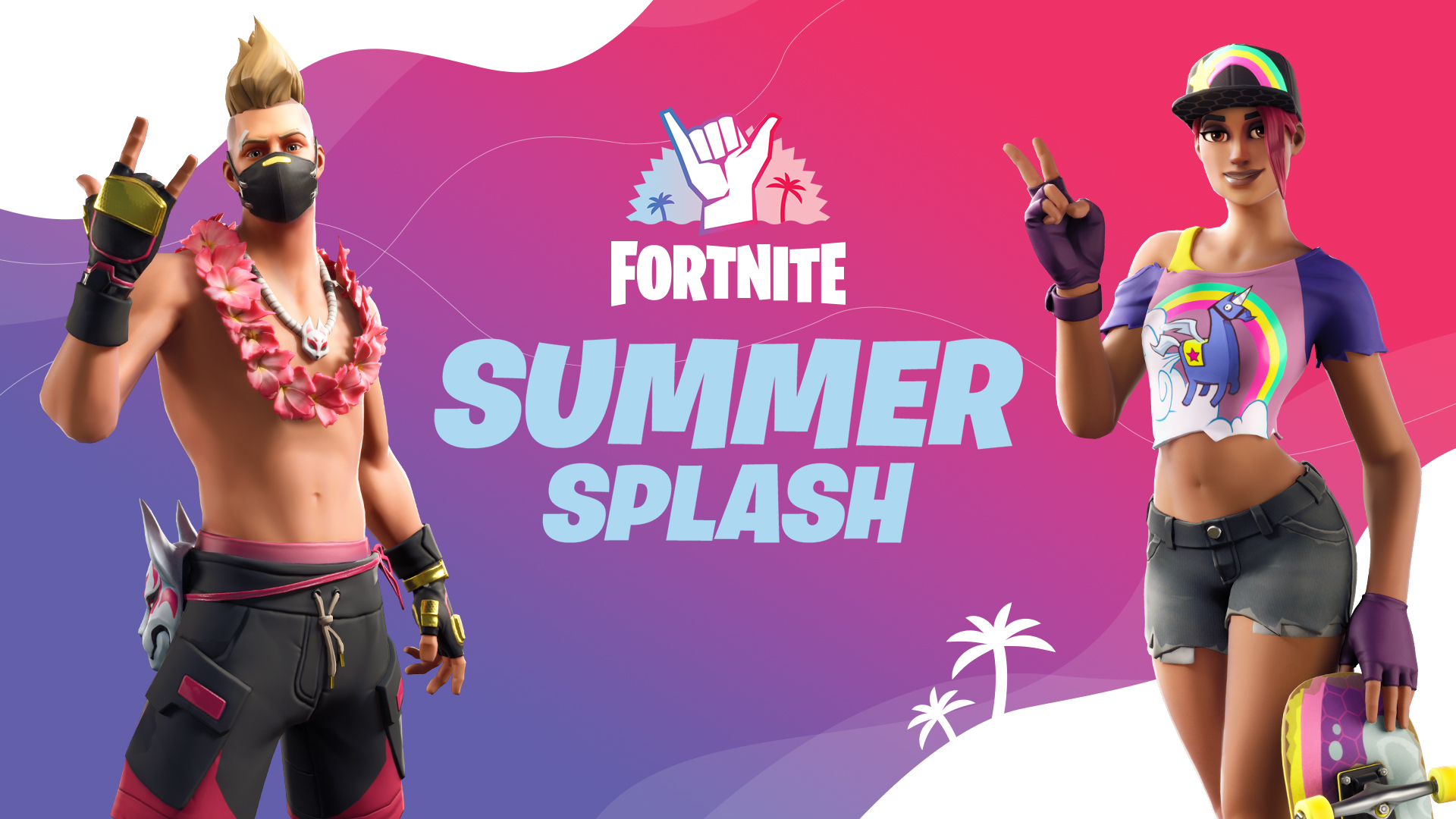 Summer Splash Dive in and Play Fortnite LTM Events Today on Xbox 1920x1080
