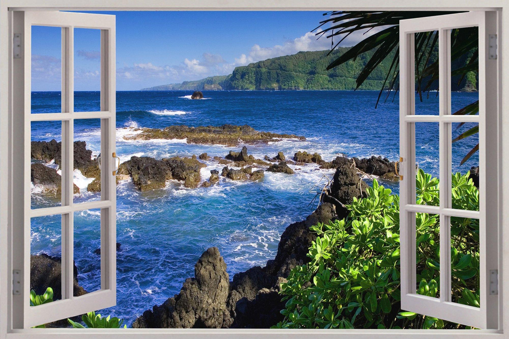 Вид на море из окна качественные фото