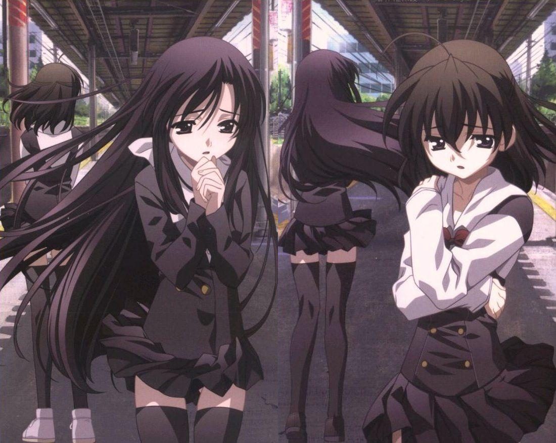 School Days Katsura Kotonoha Saionji Sekai 1100x876