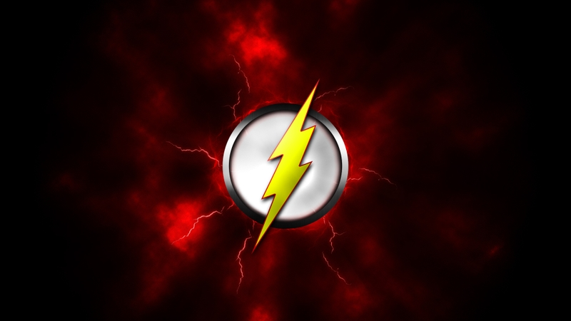 hero logos flash comic hero 1920x1080 wallpaper Logos Wallpaper 800x450