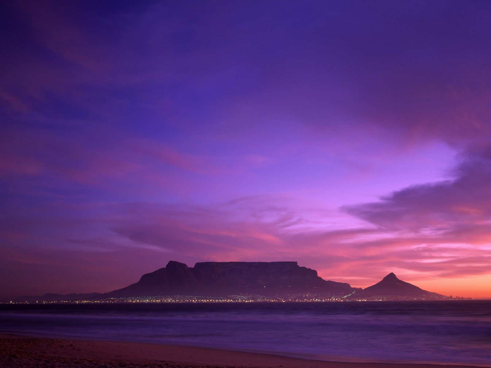 Table Mountain South Africa   Africa Photography Desktop Wallpapers 1600x1200