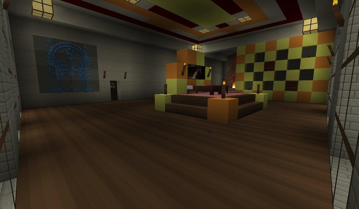 Minecraft Bedroom Wallpaper Queen and kings bedroom 1172x682