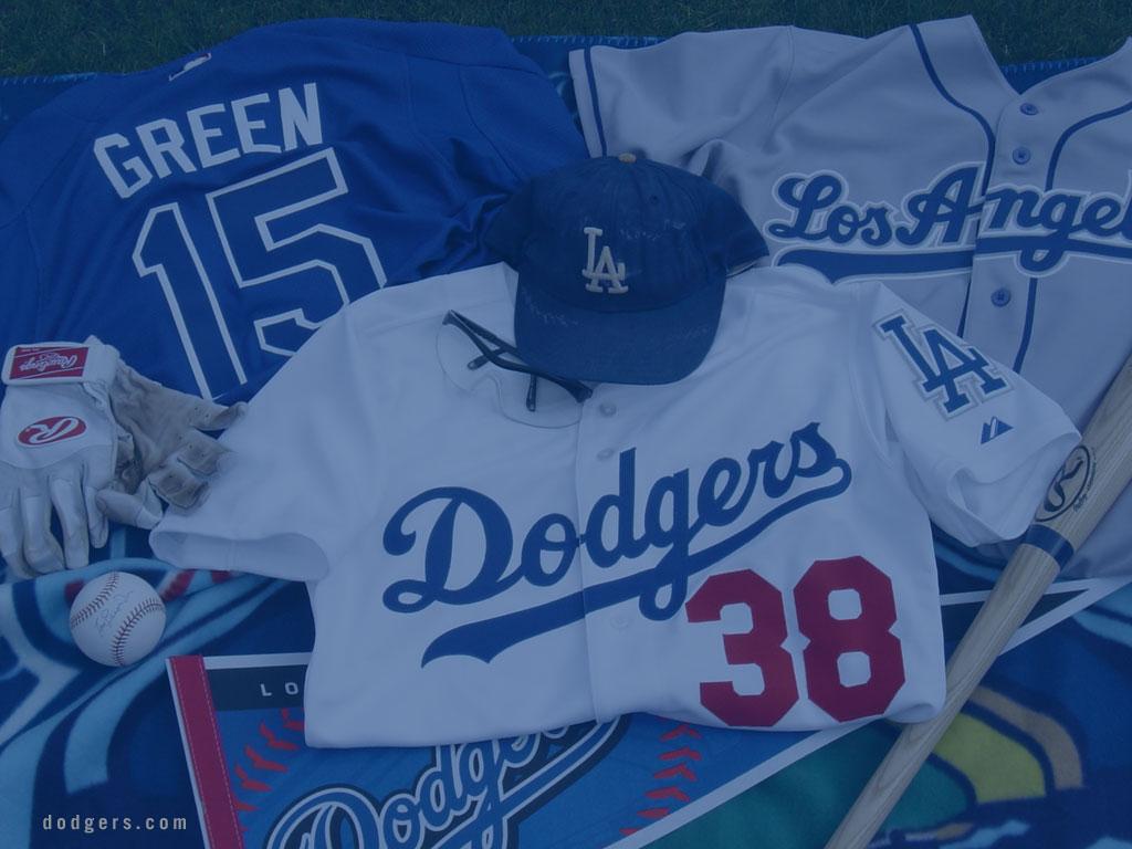 Desktop wallpaper for Baseball Los Angeles Dodgers 1024x768