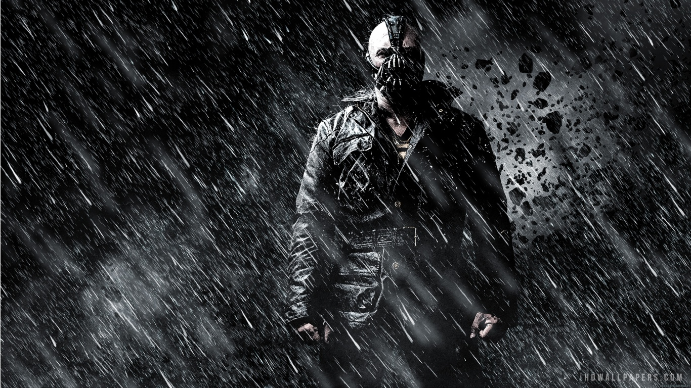 Dark Knight Rises Bane HD Wallpaper   iHD Wallpapers 1366x768