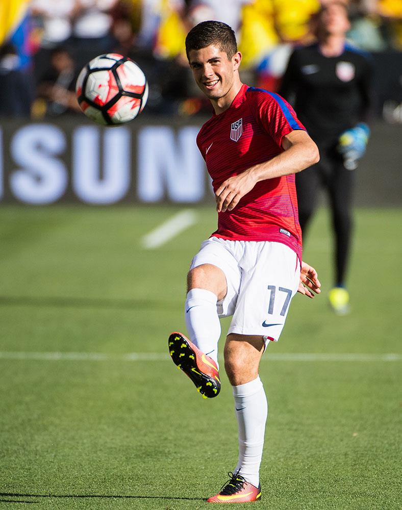 Christian Pulisic Budding career of USA Dortmund rising star 788x1000