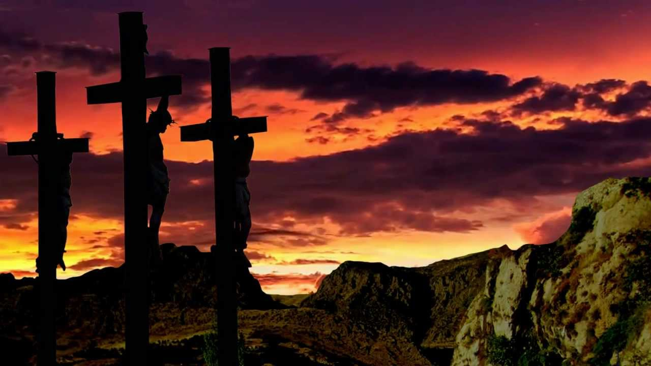 Jesus Crucified   Christian Worship background video 1080p HD 1280x720