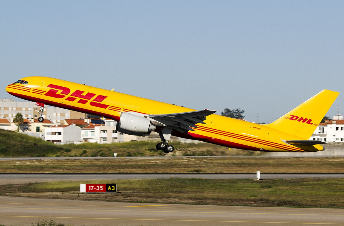 DHL Boeing 757 200 Takeoff at Porto Airport   Aircraft Wallpaper News 1200x790