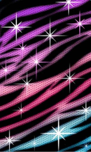 Pink and purple glitter wallpapers wallpapersafari - Pink zebra wallpaper for iphone ...