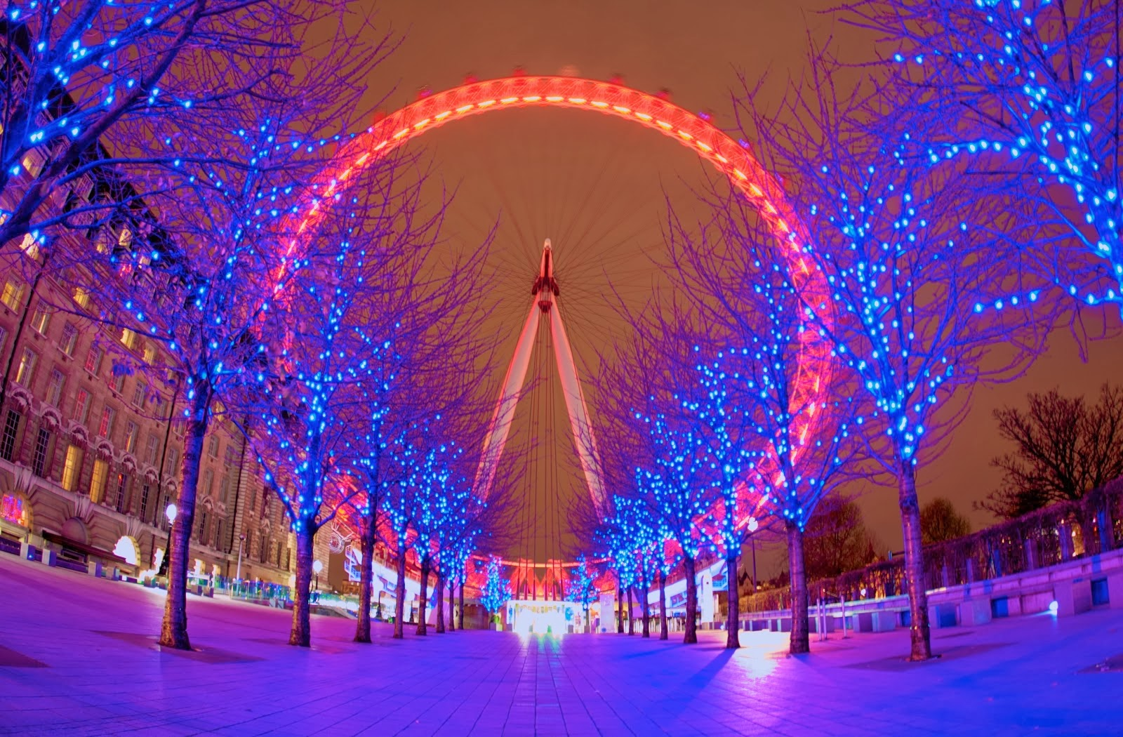 christmas london eye hd wallpapers by hd wallpapers which blog 1600x1050