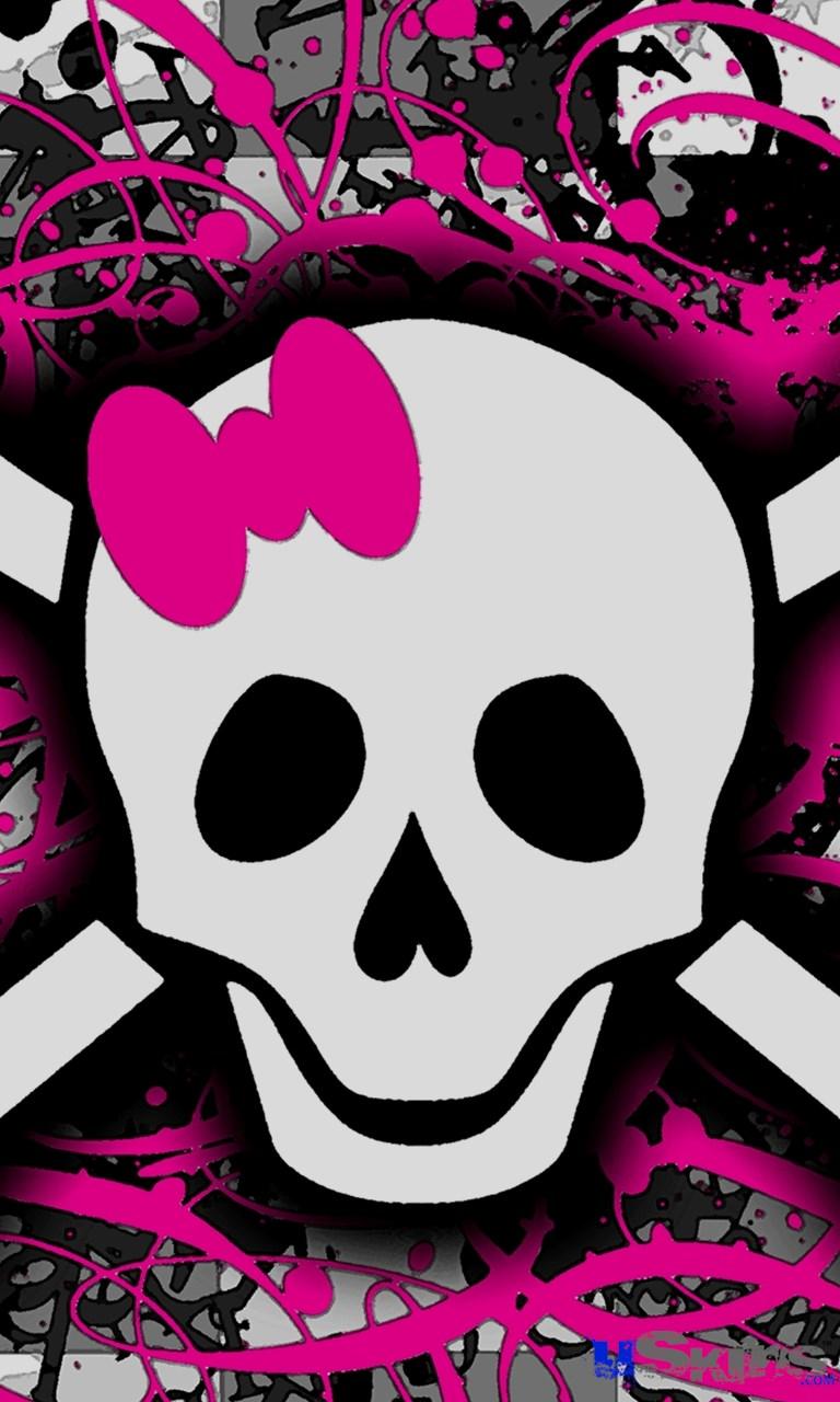 Free download Pin Download Pink Skull Wallpaper Hd