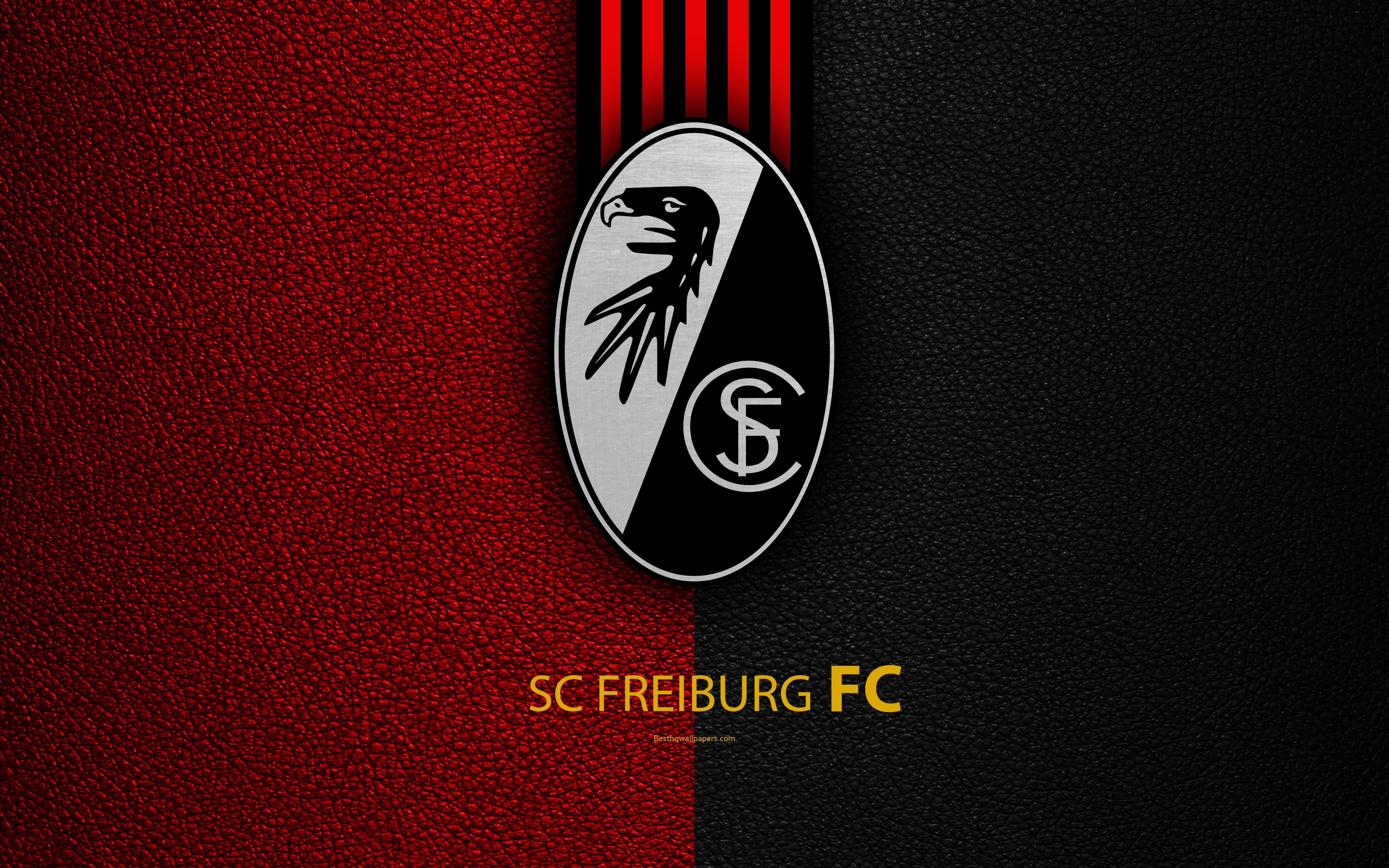 Download wallpapers SC Freiburg FC 4k German football club 3840x2400