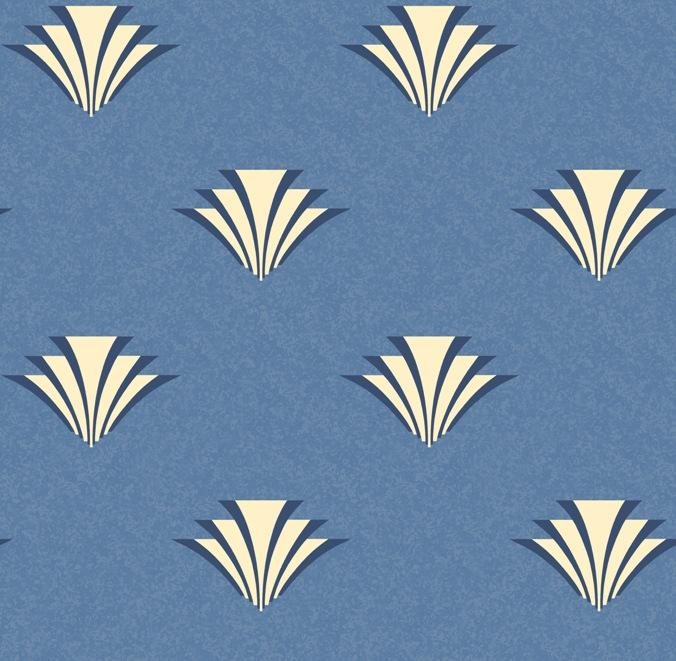 Art Deco wallpaper   Chameleon Collection 676x661