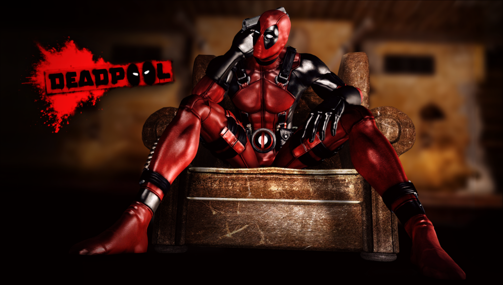 deadpool the game   xna lara wallpaper by feareffectinferno d6bvx4n 1024x580