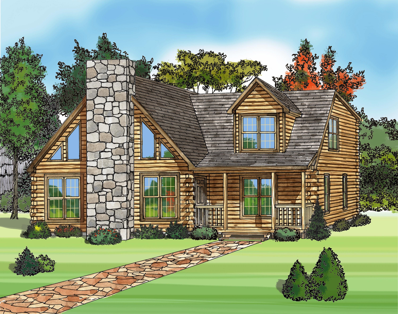 Log Home Design Software 3000x2368